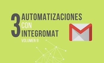 Automatizar tareas con Gmail - Integromat