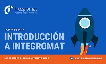 Webinar Integromat - Automatización Tareas